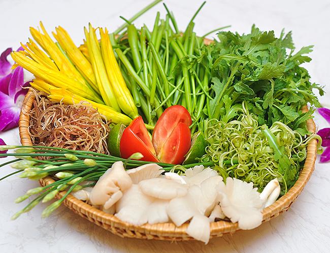 Các loại rau ăn lẩu thái - cách làm lẩu thái chua cay ngon