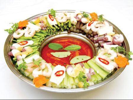 Lẩu thái hải sản - cách nấu lẩu thái hải sản
