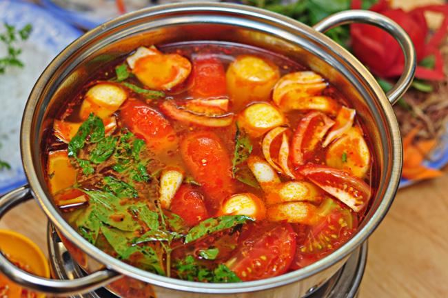Nước lẩu thái hải sản - cách nấu lẩu thái hải sản