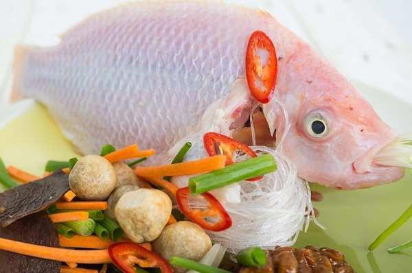 Nguyên liệu nấu lẩu thái cá diêu hồng - cách nấu lẩu thái cá diêu hồng