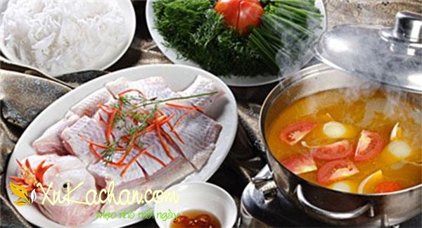 Cách nấu lẩu thái cá diêu hồng ngon, lạ miệng - cách nấu lẩu thái đơn giản tại nhà