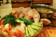 Cách nấu lẩu cá bớp măng chua ngon như ngoài hàng