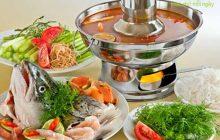 Cách nấu lẩu cá hồi thơm ngon bổ dưỡng ngay tại nhà