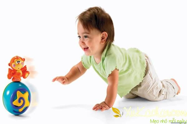 Nuôi trẻ sơ sinh - Trẻ 8 tháng tuổi