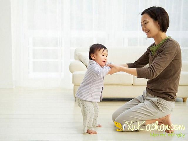 Nuôi trẻ sơ sinh - Trẻ 11 tháng tuổi