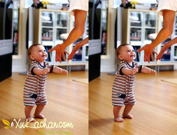Nuôi trẻ sơ sinh - Khi trẻ 12 tháng tuổi có khả năng tự đi lại được