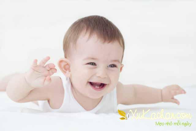 Nuôi trẻ sơ sinh - Trẻ 5 tháng tuổi