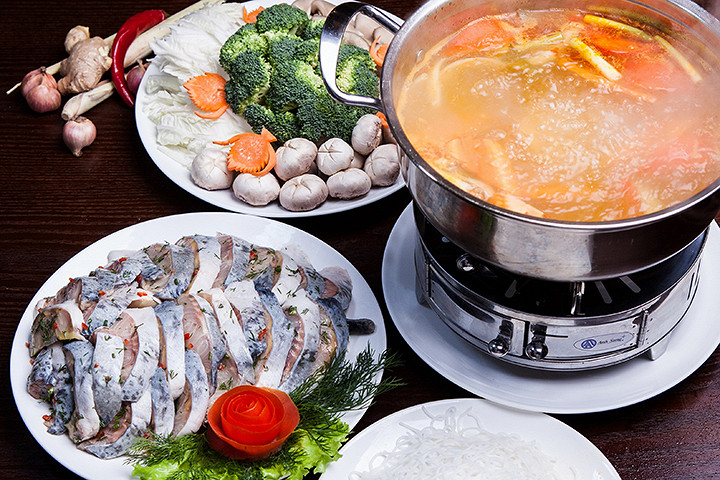 Cách nấu lẩu cá tầm ngon miễn chê - lau ca tam