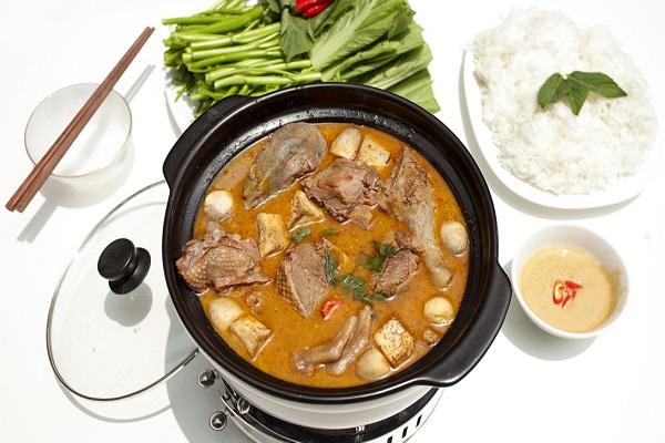 Cách nấu lẩu vịt thơm ngon hấp dẫn tại nhà - cách nấu lẩu vịt ngon