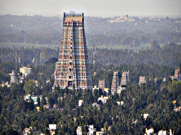 Ngôi đền Sri Ranganathaswamy ở Ấn Độ