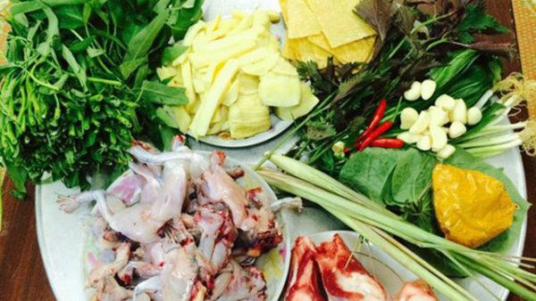 Một số nguyên liệu nấu lẩu ếch măng cay thơm ngon hấp dẫn - cách nấu lẩu ếch măng cay