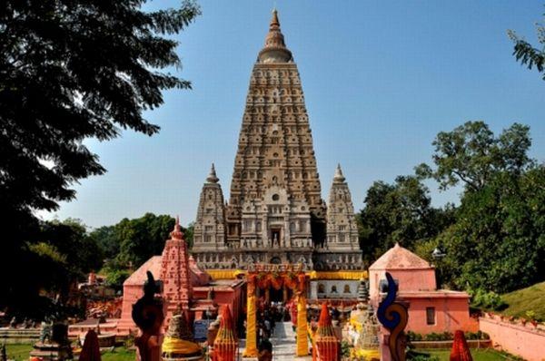 Tháp đại giác - Quần thể đền Mahabodhi tại Bodh Gaya