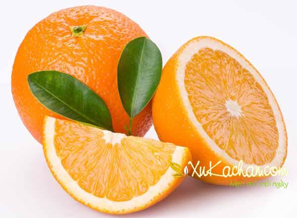 Cách trị ho cho trẻ bằng cam nướng - cách trị ho cho trẻ nhỏ