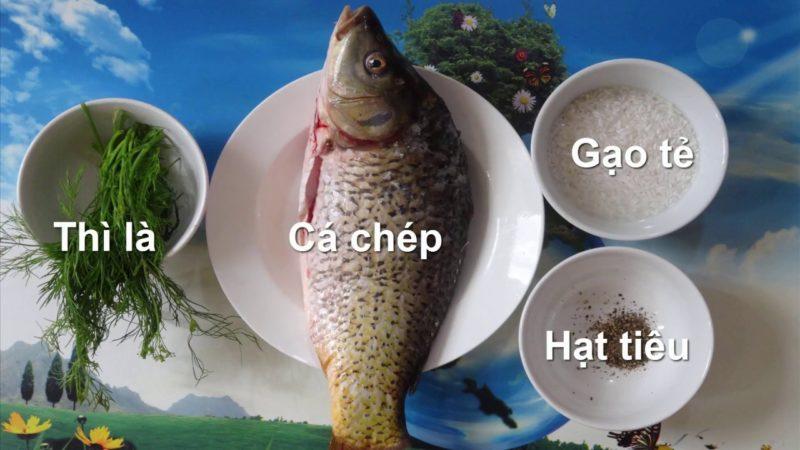 Một số nguyên liệu nấu cháo cá chép cần chuẩn bị - cách nấu cháo cá chép ngon