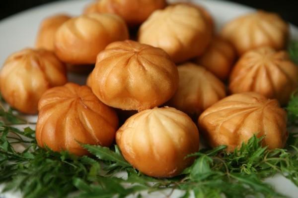 Thành phẩm món bánh bao chiên thơm ngon, hấp dẫn - cach lam banh bao chien