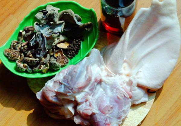 Một số nguyên liệu nấu thịt đông cần chuẩn bị - cách nấu thịt đông ngon nhất