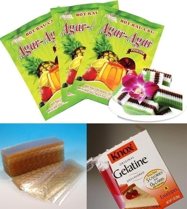 Sự khác nhau giữa bột gelatine và bột rau câu - cách làm sữa chua dẻo tại nhà