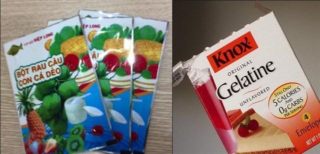 Bột rau câu và bột gelatine - cách làm sữa chua dẻo ngon