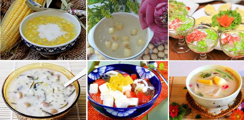 Tổng hợp các món chè ngon thanh mát, giải nhiệt ngày hè - cách nấu chè