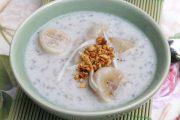 Cách nấu chè chuối chưng khoai lang nước cốt dừa chuẩn nhất