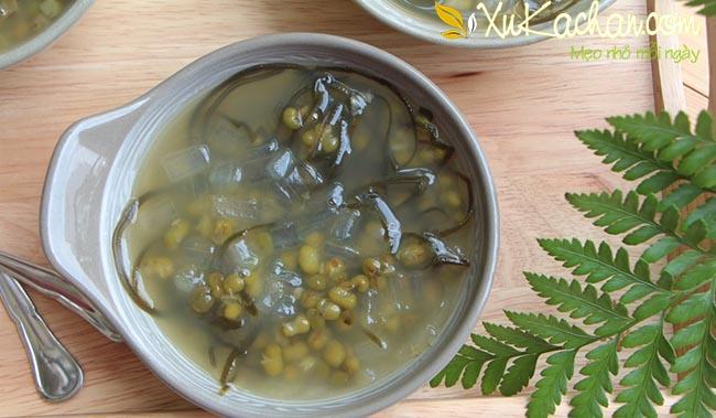 Cách nấu chè đậu xanh nha đam đường phèn ngon nhất - cách nấu chè đậu xanh có vỏ