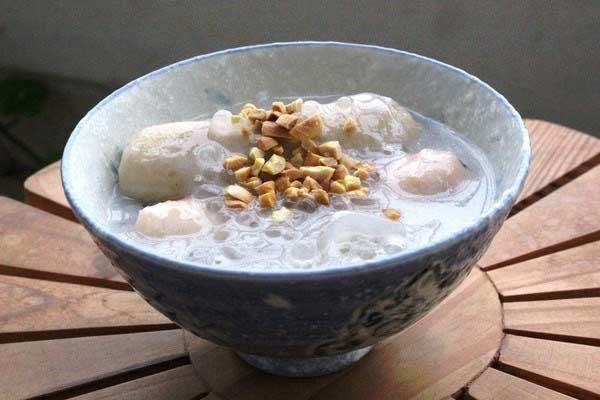 Cách nấu chè chuối chưng khoai lang nước cốt dừa chuẩn nhất - cach nau che chuoi chung