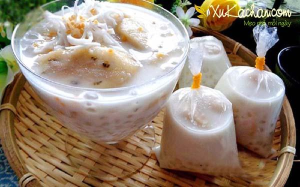 Chè chuối nước cốt dừa tự làm ngay tại nhà - cách nấu chè chuối nước cốt dừa