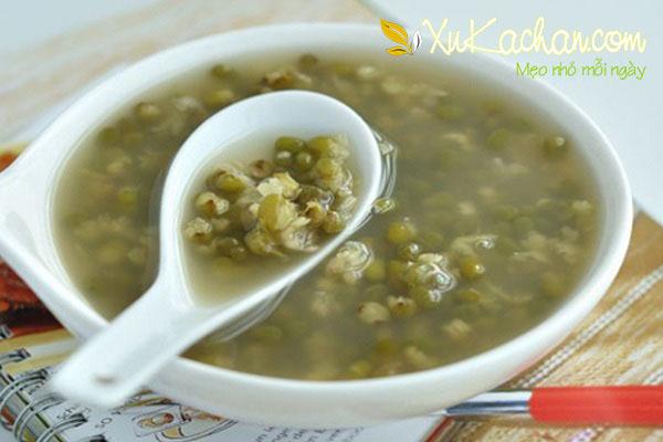 Cách nấu chè đậu xanh nguyên hạt ngon nhất - cach nau che dau xanh nguyen hat