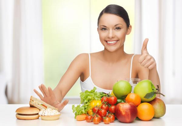 Chế độ ăn uống cần phải hợp lý - cách trị mụn bọc cấp tốc