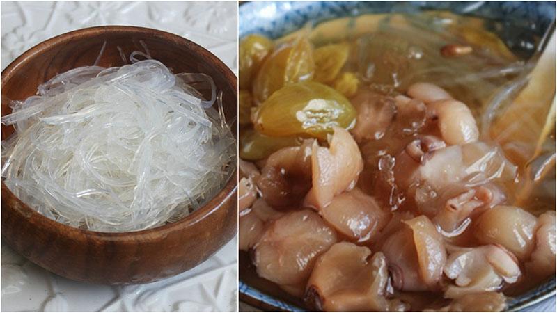 Chè hạt sen nhãn nhục rau câu ngon tuyệt - cách nấu chè hạt sen nhãn nhục