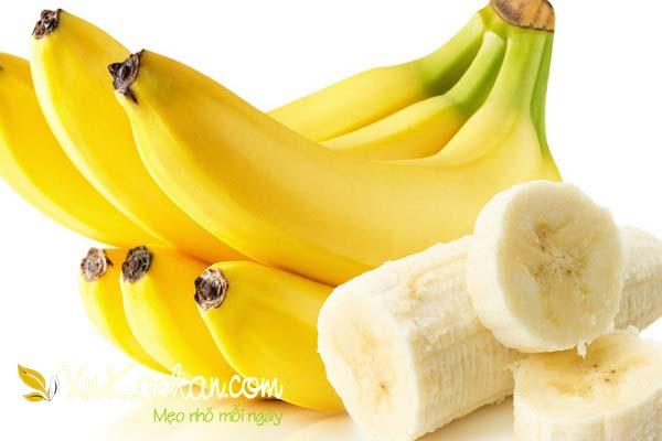 Dinh dưỡng có trong chuối - cách nấu chè chuối ngon nhất
