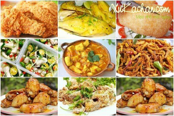 Tổng hợp các món ngon từ thịt gà chế biến đa dạng và phong phú