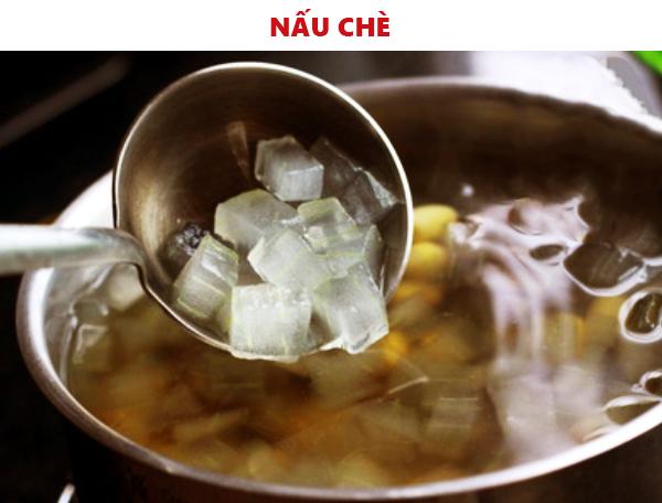 Nấu chè hạt sen nhãn nhục nha đam ngon tuyệt - cách nấu chè hạt sen nhãn khô
