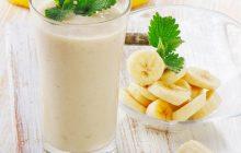Cách làm sinh tố chuối sữa chua ngon và chuẩn