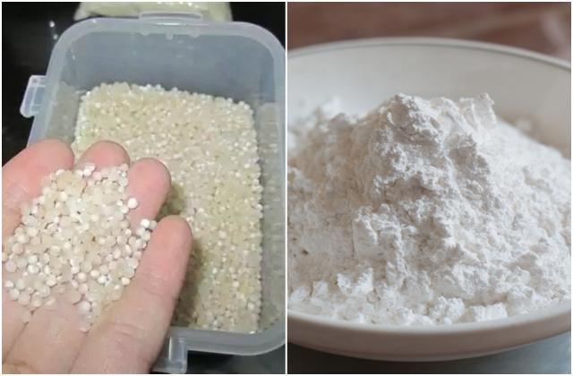 Phân biệt bột báng và bột năng