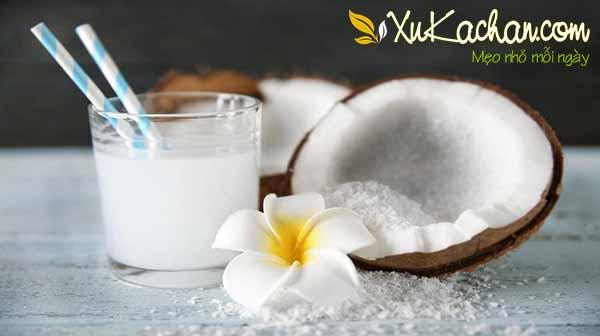 Uống sinh tố dừa có các tác dụng gì?