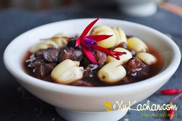 Chè hạt sen đậu đen ngon hấp dẫn - cách nấu chè hạt sen đậu đen