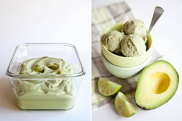 Thành phẩm món kem bơ sữa có được vô cùng thơm ngon và hấp dẫn