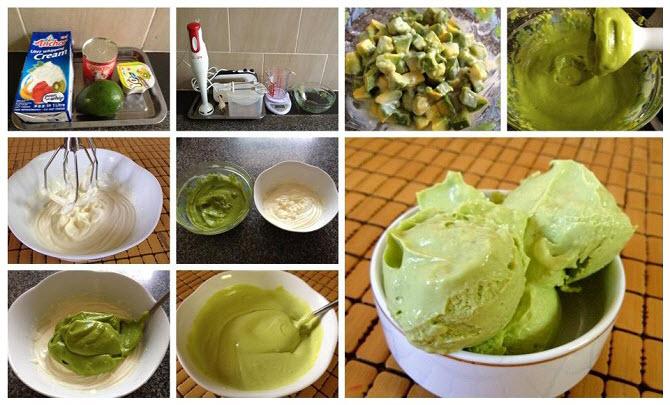 Một số nguyên liệu làm kem bơ cần chuẩn bị - cách làm kem bơ tại nhà