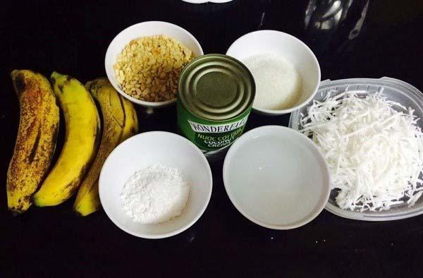 Một số nguyên liệu làm kem chuối miếng cần chuẩn bị