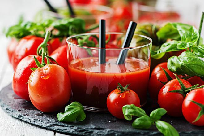 Một số lưu ý khi làm sinh tố cà chua