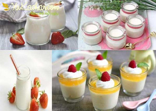 Tổng hợp các loại sữa chua ngon và dễ làm nhất ngay tại nhà