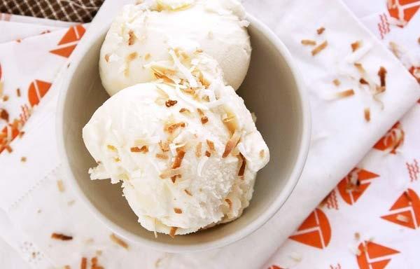 Cách làm kem dừa tại nhà vừa ngon, vừa dễ