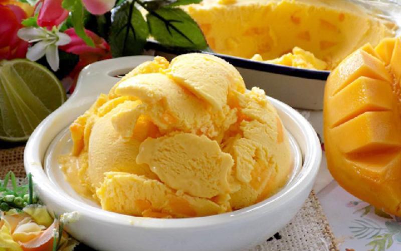 Cách làm kem xoài tại nhà ngon và chuẩn nhất - cach lam kem xoai