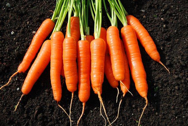 Cà rốt rất giàu các chất chống oxi hóa