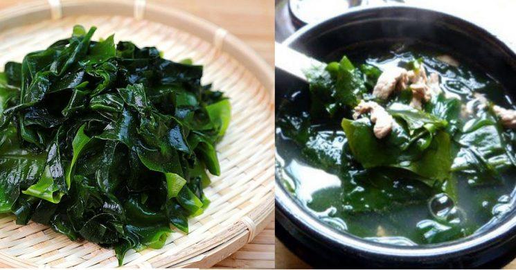 Canh rong biển thịt bò đúng kiểu Hàn Quốc