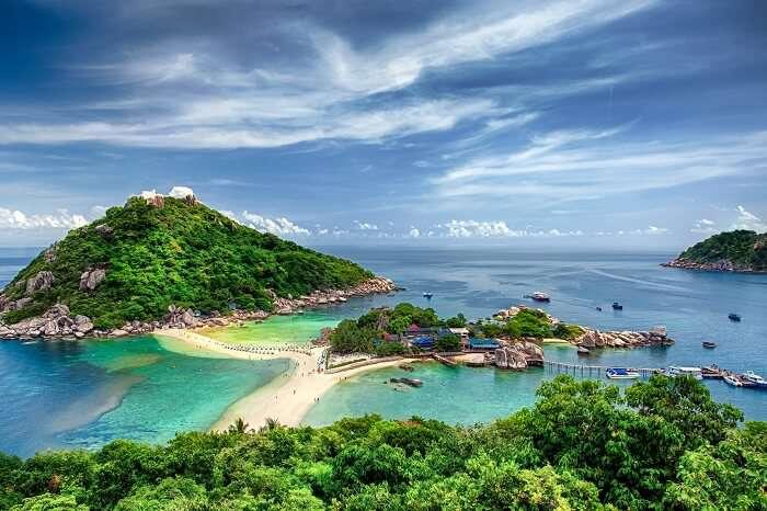 Hòn đảo Koh Samui ở Thái Lan