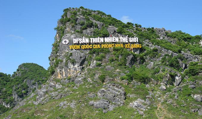 Phong Nha - Kẻ Bàng đã được UNESCO công nhận là Di sản thiên nhiên thế giới