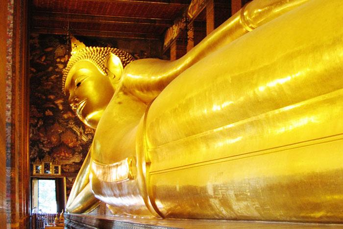 Tượng Phật lớn nhất trong chùa Wat Pho