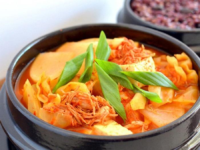 Cách nấu canh kim chi Hàn Quốc ngon - chuẩn vị